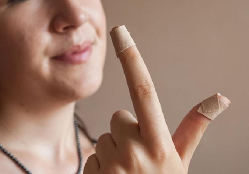 Компресс для ногтей с Йодинолом