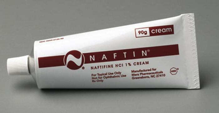 Крем Нафтифин