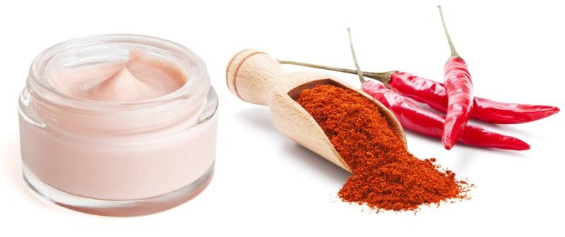 Красный перец и крем