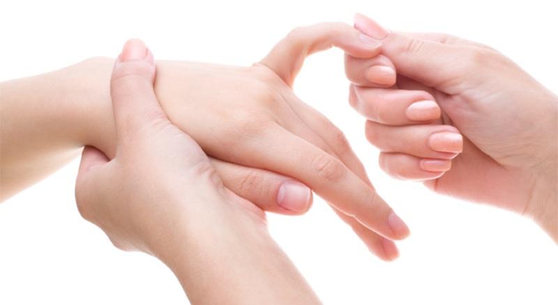 Массаж ногтей