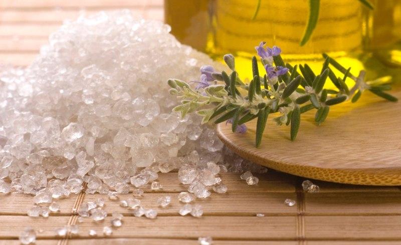 Морская соль для ванночки