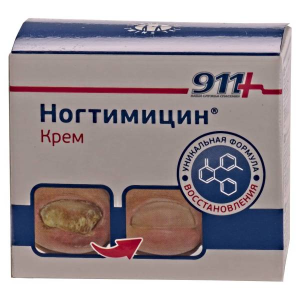 Крем Ногтимицин