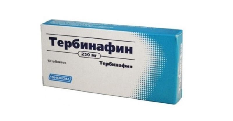 Лекарство от грибка на ногтях ног тербинафин