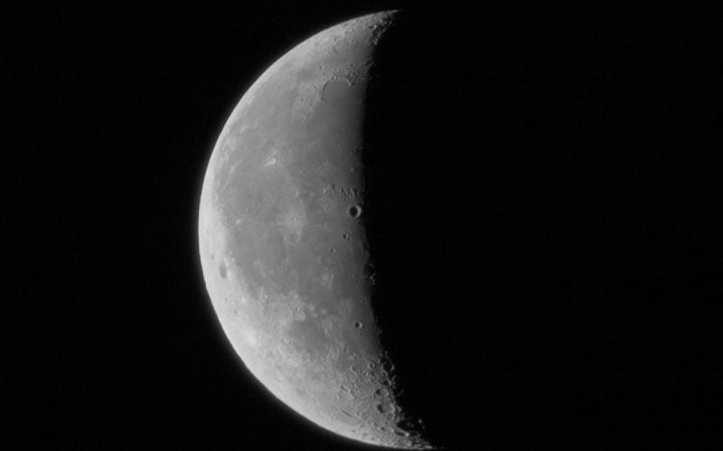 Третья четверть убывающей Луны