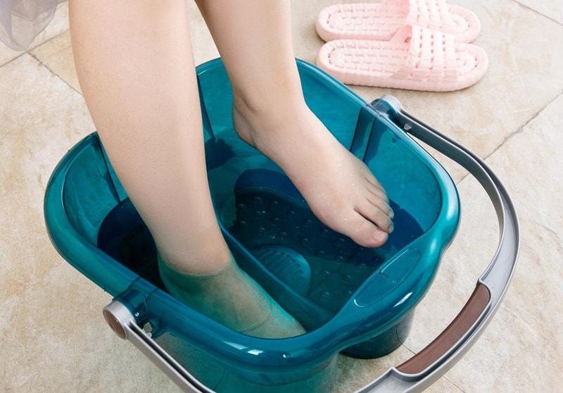 Ванночка с Йодинолом для ногтей