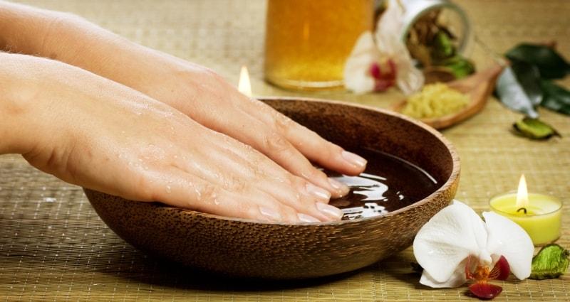 Ванночка с Креолином для ногтей