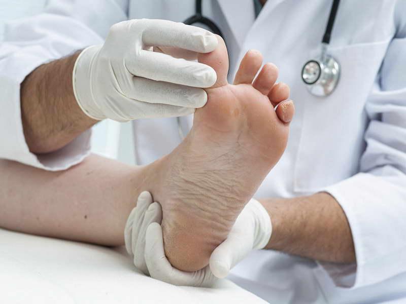 При беременности грибок ногтей на ногах