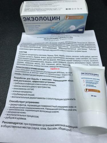 Состав Экзолицин