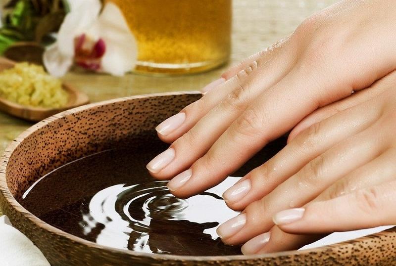 Ванночки из уксуса для лечения грибка ногтей