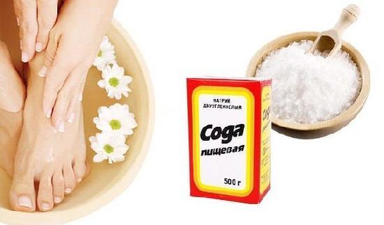 Сода от грибка ногтей на ногах: как лечить и отзывы