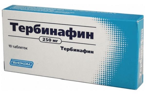 Тербинафин: инструкция по применению, отзывы и цены